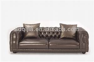 style americain classique chesterfield luxe gris fonce en With canape cuir americain
