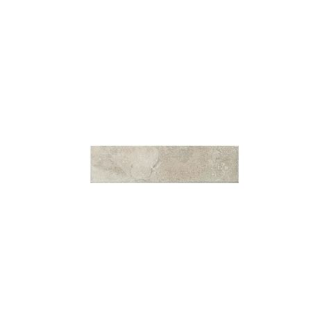 American Olean Glass Tile Trim by Shop American Olean Pozzalo Sail White Ceramic V Cap Tile