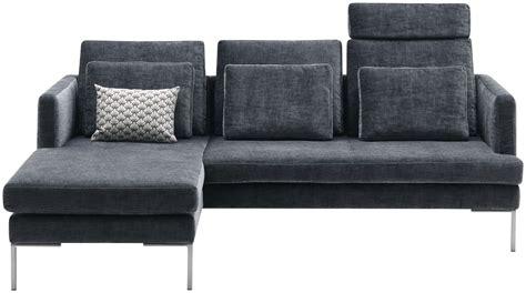 canape angle cuir gris canapé d angle cuir gris anthracite idées de décoration