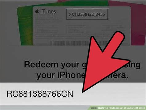Redeem An Itunes  Ee  Gift Ee    Ee  Card Ee    Steps With Pictures