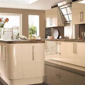 17 best images about cream gloss kitchens on pinterest for Best brand of paint for kitchen cabinets with cheap contemporary wall art