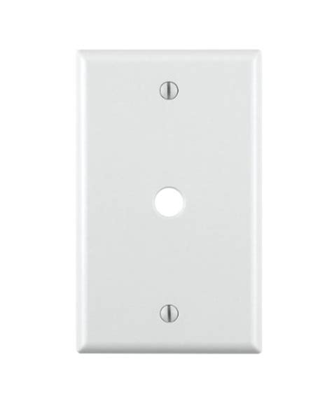 Cable Cover Plate by Cable Outlet Cover Plate