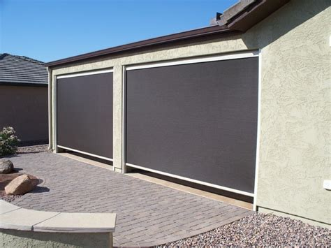 roll up patio sun screens sun security products by day screens