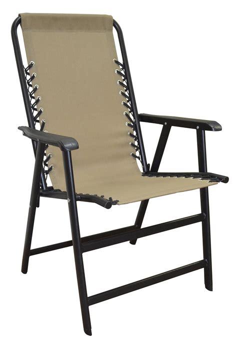 Amazonca Chair by Caravan Sports Suspension Folding Chair Beige Ca