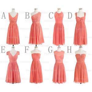 coral bridesmaid dresses bridesmaid dresses mismatched bridesmaid dresses simple - Cheap Coral Bridesmaid Dresses