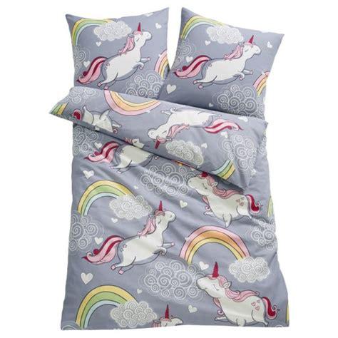 parure de lit licorne pyjama licorne