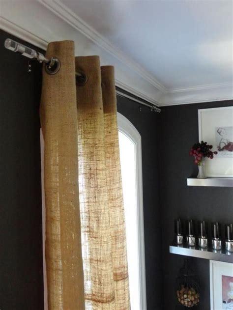 ideas  decorar tu hogar  tela de arpillera