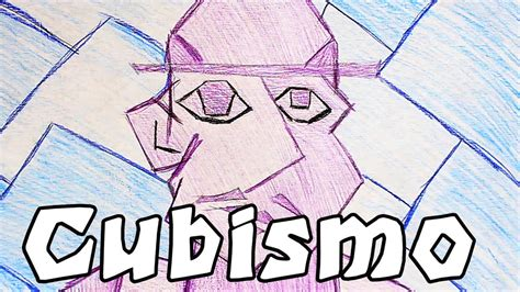 como hacer  dibujo cubista youtube