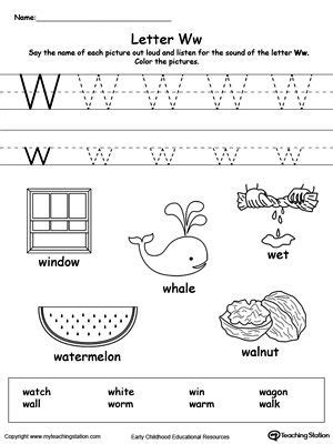 words starting with letter w kindergarten activities 506   e7b0a73efa272676676d2e0d61859bc6