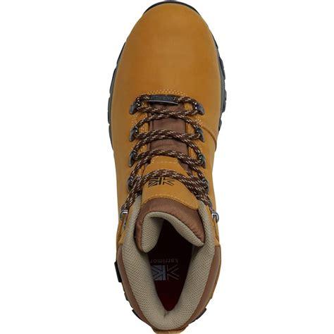 buy karrimor mens mendip 3 weathertite hiking boots brown