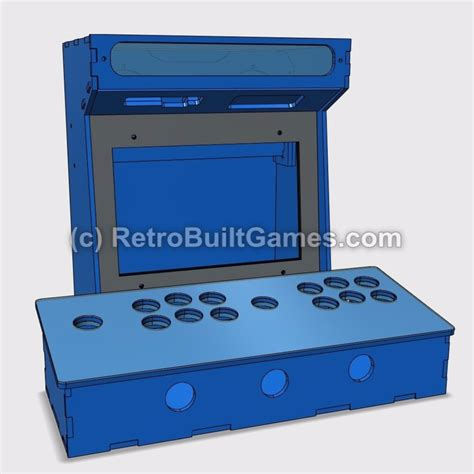 Mini Pac Arcade Cabinet Builders Kit by Diy Arcade Cabinet Kits More Mini Arcade Kits