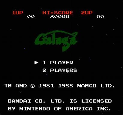 Screen Title Nes Awesome Galaga Celebration Kotaku