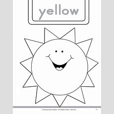 Colors And Shapes Yellow And Triangle Worksheet For Prek  Kindergarten  Lesson Planet