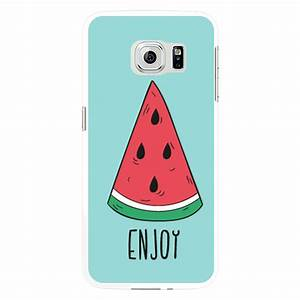 summer watermelon popsicle letter print case cover for With letter phone case