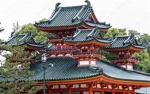 Architecture Japonaise Traditionnelle : architecture japonaise traditionnelle au heian jingu temple kyoto photo ditoriale susanoo ~ Melissatoandfro.com Idées de Décoration