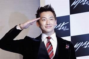 K Pop Star Rain Joins South Korean Army Billboard