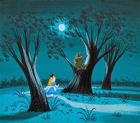 Cartoon Concept Design Mary Blair Alice In Wonderland