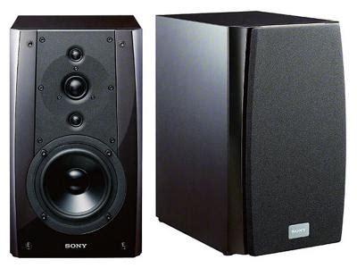 sony bookshelf speakers sony stereo bookshelf speaker ssna5es