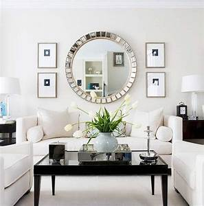 Brilliant ideas for decorating with large wall mirror