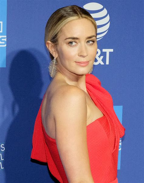 Emily Blunt attends the 2019 Palm Springs International ...