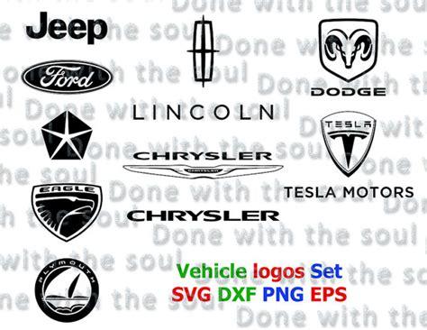 jeep eagle logo vehicle logos set dodge logo vector car logo by