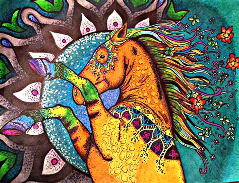 5 horse coloring books plus free animal creations the