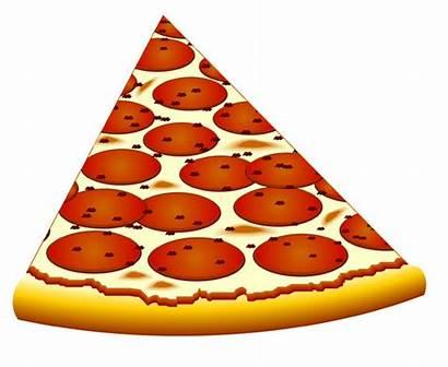 Pizza Clipart Cheese Slice Clip Background Triangular
