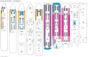 norwegian spirit deck plans cabin diagrams pictures