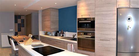salon et cuisine aménagement cuisine et salon style nordique la seyne sur mer
