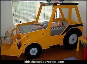 (25) theme bed plans Front End Loader Bed Woodworking Plan