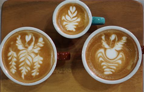 The Top 6 Finalists From Singapore Latte Art Championship