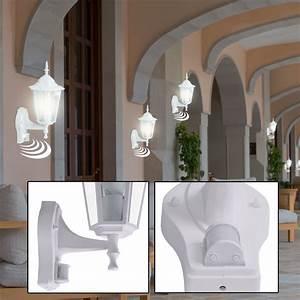 Balkon Wand Verschönern : 6x au en bereich wand laternen glas balkon alu bewegungsmelder veranda lampen ebay ~ Indierocktalk.com Haus und Dekorationen