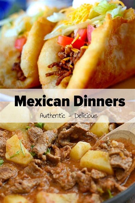 You add the meal to the boiling water and then simmer or boil your meal thus increasing preparation and cleanup. 30 Best Mexican Dinners | Mexican food recipes, Dinner ...