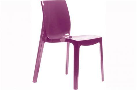 chaise violette lot de 2 chaises violette victory chaises design pas cher