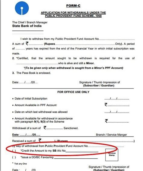 withdraw money  sbi ppf account quora