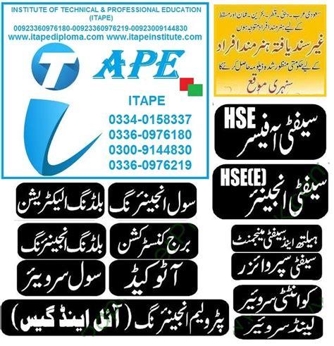 diploma certificate pakistan jobs uae ksa oman bahrain qatar kuwait www
