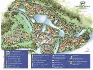 Saratoga Springs Disney Resort Map