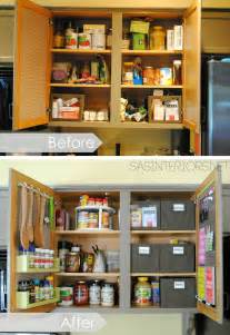 kitchen organization ideas for the inside of the cabinet doors burger - Kitchen Organization Ideas