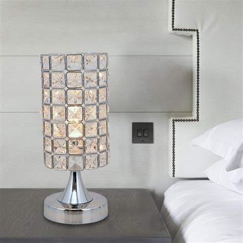 crystal table ls for bedroom modern lustres crystal table l bed bedroom table light