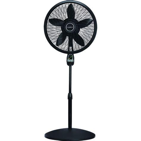 lasko 18 stand fan lasko adjustable height 18 in oscillating pedestal fan