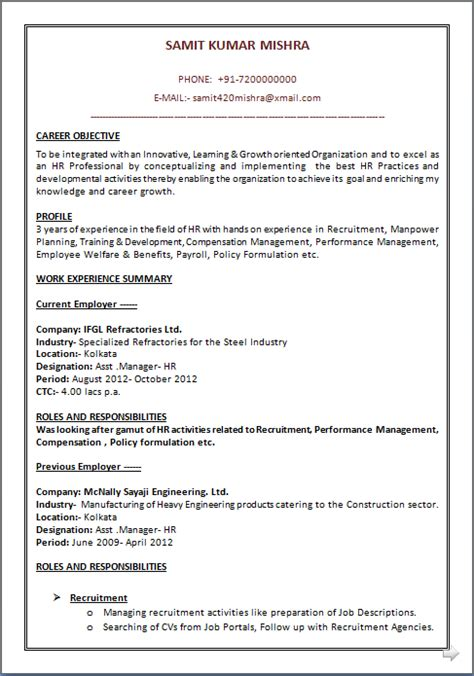 resume co a beautyful resume sle in word doc