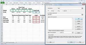 Excel Solver Tutorial