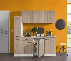 Kühlschrank 180 Cm : minik che singlek che mit k hlschrank doppel kochplatte ~ Watch28wear.com Haus und Dekorationen