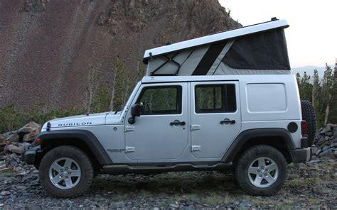 jeep tent 2 door ursa minor jeep wrangler first drive truck trend