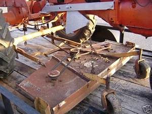 C Hydraulic Lift For Belly Mower