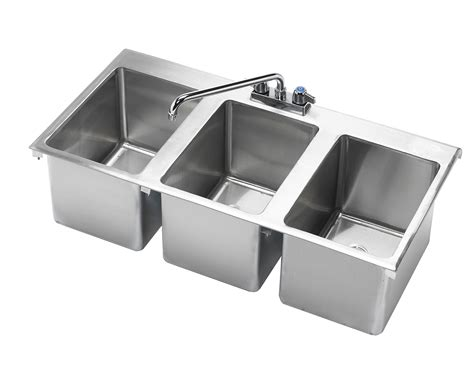 three compartment kitchen sink 3 compartment bar sink faucet 6107