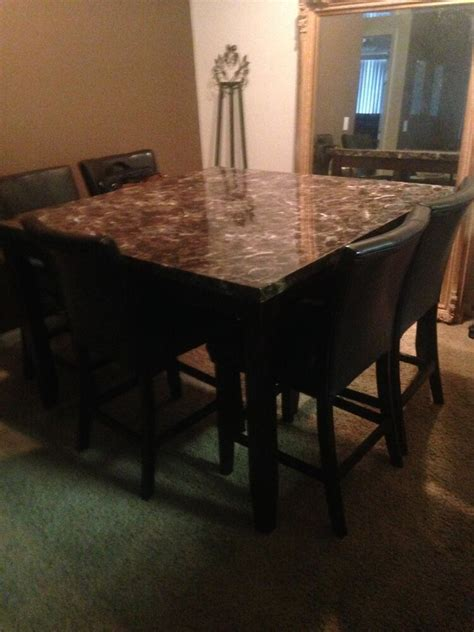 High Top Kitchen Table  Ebay