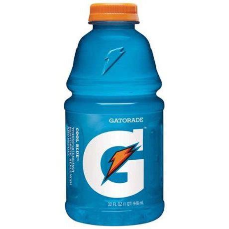 light blue gatorade breaking the best gatorade flavors of all time
