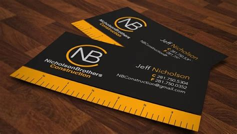We have 1,000s of business card templates for you to choose from. 35+FREE Construction Business Template - Ms Word, CorelDraw, Photoshop | Free & Premium Templates