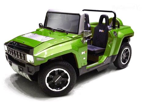 Hummer Electric Car Is Pint-sized